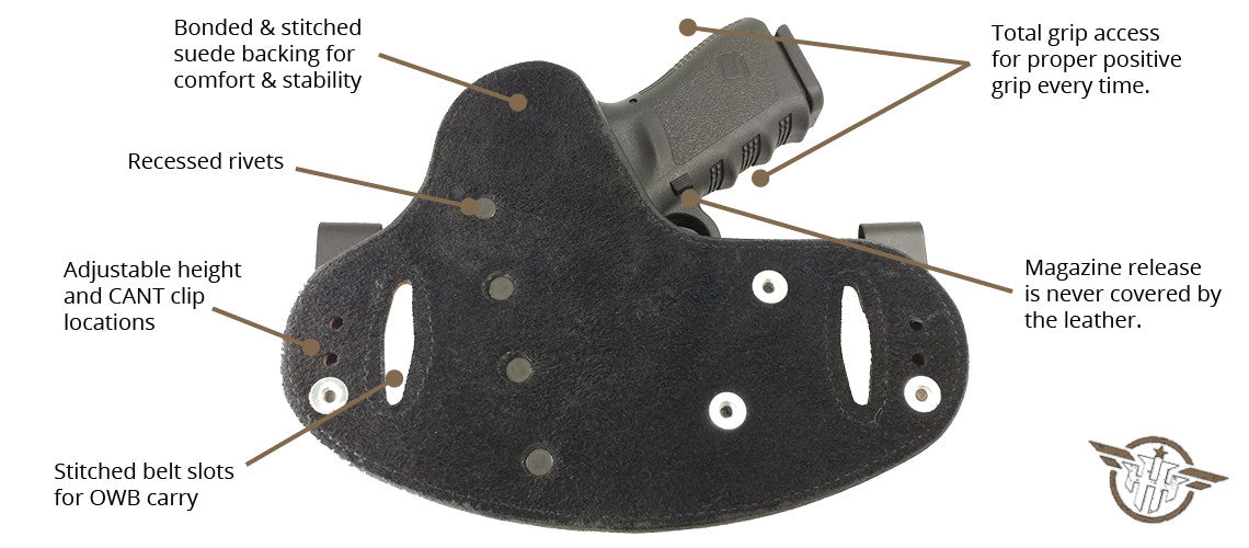 Concealed Carry Holsters | Hidden Hybrid Holsters | Made in the USA
