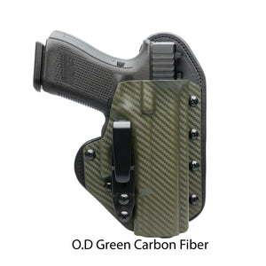 Hidden Hybrid Holsters OD Green Carbon Fiber Kydex