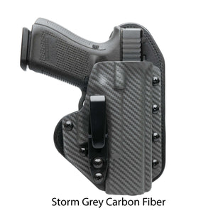 Hidden Hybrid Holsters Storm Grey Carbon Fiber Kydex
