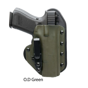 Hidden Hybrid Holsters OD Green Kydex