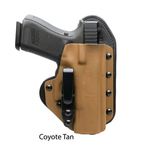 Hidden Hybrid Holsters Coyote Tan Kydex