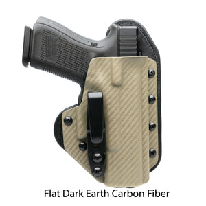 Hidden Hybrid Holsters Flat Dark Earth Carbon Fiber Kydex
