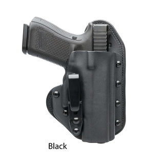 Hidden Hybrid Holsters Black Kydex