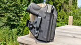 Sig Sauer - P320 Full Size with Lima320 Grip Laser - Appendix Carry - Strong Side - Single Clip