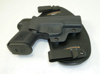 Walther - PPQ M2 5in 9mm /  40SW - Double Clip IWB & OWB