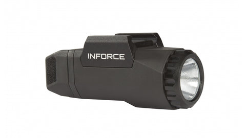 INFORCE APL UNIVERSAL 400 LUMEN, LED, w/MIL-STD-1913 RAILS. BLACK. SKU: A-05-1