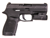 INFORCE APLc, 200 LUMEN, LED, MIL-STD-1913 Rail, Black, SKU: AC-05-1 on Sig Sauer P320