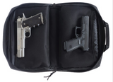 Drago Gear Hidden Hybrid Holsters Double Pistol Bag