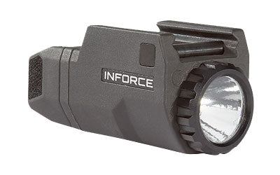 INFORCE APLc FOR  GLOCK COMPACT 200 LUMEN, LED, BLACK, SKU: ACG-05-1