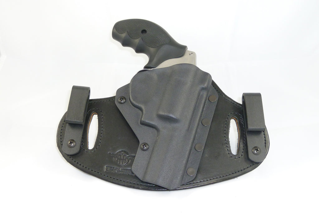 Smith & Wesson - 2 125 J Frame  38 Special - Double Clip IWB & OWB