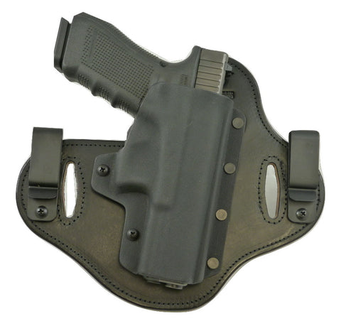 Wilson - EDC X9 with Rail - Double Clip IWB & OWB