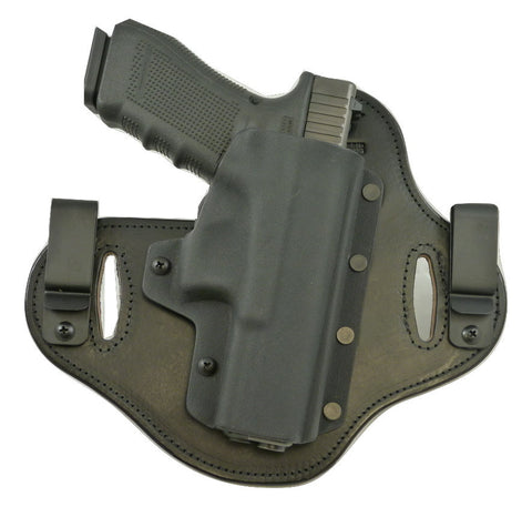 Glock - 19 Gen 4 MOS RMR Guard and Suppressor Sights - Double Clip IWB & OWB