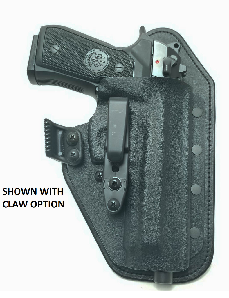 Beretta - 92A1 / 96A1 / 98A1 / M9A1 / M9A3 with Rail - Single Clip Strong  Side/Appendix IWB