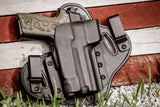 FNH USA - FNX45 Tactical with RMR Guard and Suppressor Sights - Single Clip Strong Side/Appendix IWB