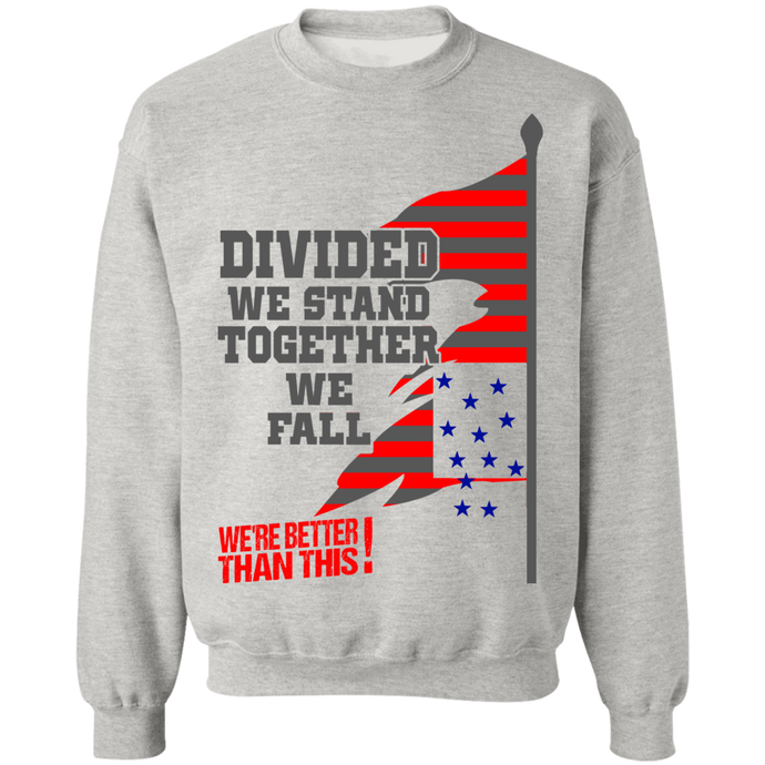 Divided- Crewneck Pullover Sweatshirt  8 oz.-men's