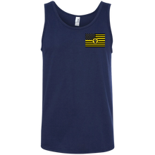 Ringspun Cotton Tank Top-UNISEX