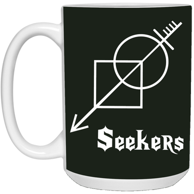 Seekers-15 oz. White Mug-Drinkware