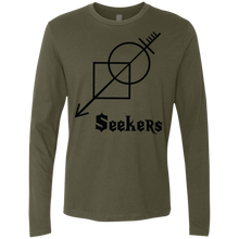 Seekers-Next Level Men's Premium LS-men's