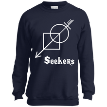 Seekers-Port and Co. Youth Crewneck Sweatshirt-men's