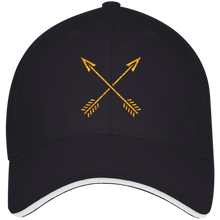 Buffalo Soldiers- Structured Twill Cap With Sandwich Visor