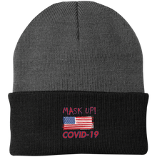 Mask Up !- CP90 Knit Cap
