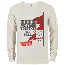 Divided- French Terry Crew-men's