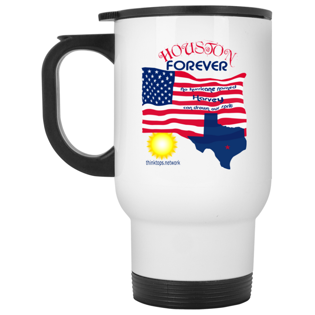 XP8400W White Travel Mug