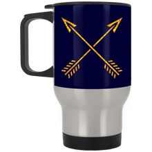 Buffalo Soldiers-Silver Stainless Travel Mug