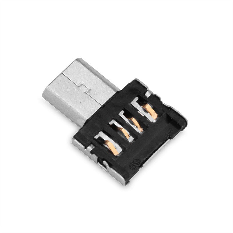 FORNORM Micro USB To Female USB 2.0 OTG Converter Adapter With OTG Function For All Micro USB Connector Mobiles And Tablets