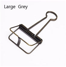 Cute Kawaii Colorful Metal Paper Clips Binder Clip For Photo Message Ticket File -Gadget