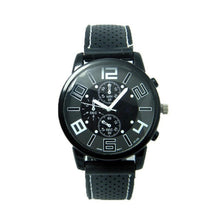 Alloy Analogue Soft Style Shell Watch Dial Silicone Sports Men Quartz Band