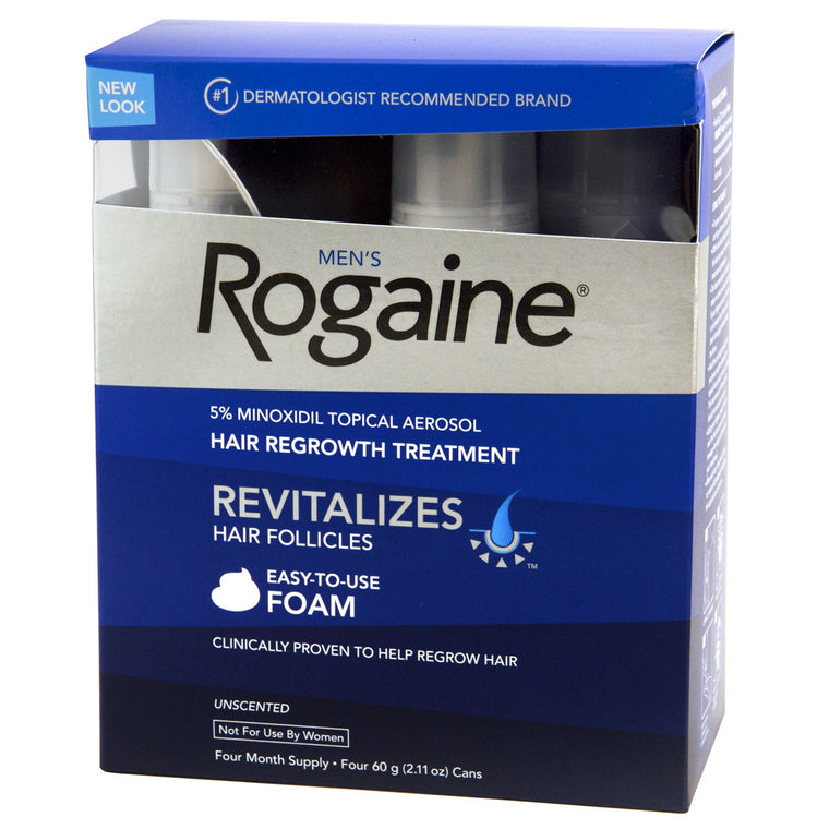 Extra Strength Rogaine for Men 4 Month Supply
