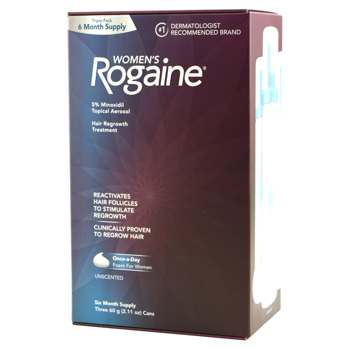 Women's Rogaine Six Month Supply