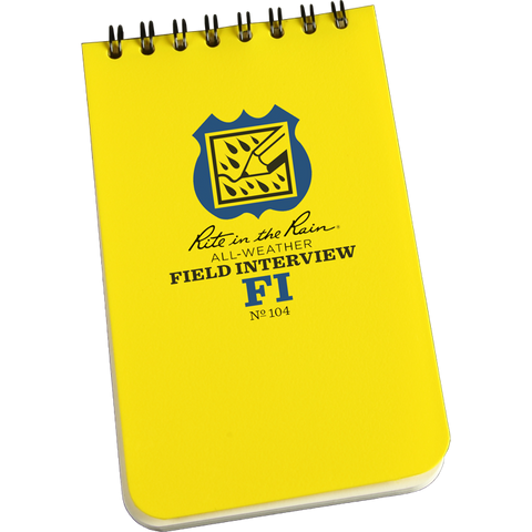 Field Interview Notebook (104)