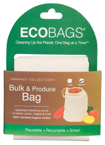 Organic Cloth Bulk & Produce Bag Medium