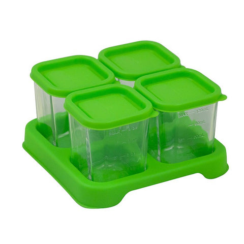 Fresh Baby Food Glass Cubes (4oz/4pck)