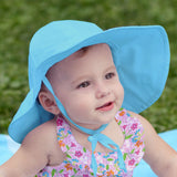 Sun Protection Brim Hat Solid Colors