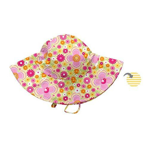 Baby Girl Reversible Brim Sun Protection Hat 9-18 month