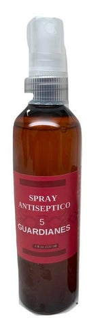5 Guardianes Antiseptic Spray 4 oz