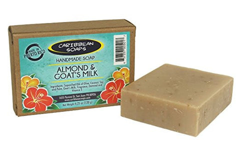 Bar Soap - ALMOND & GOAT'S MILK