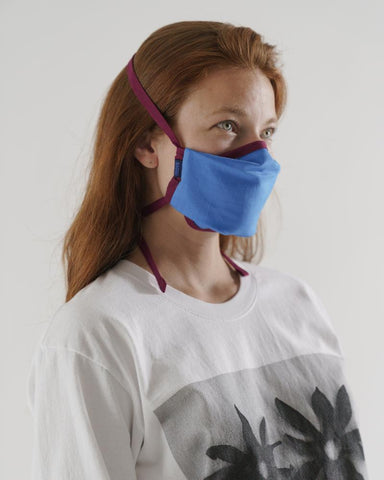 Fabric Face Mask Set Tie