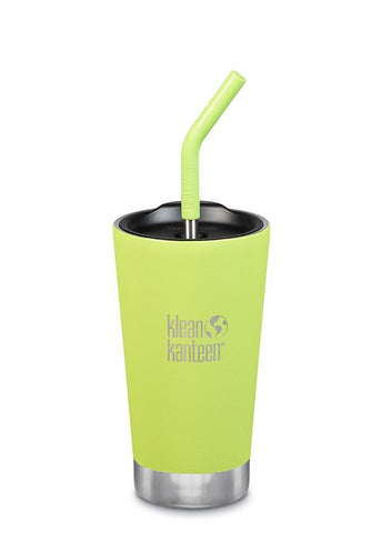 Insulated Tumbler with Straw 16oz