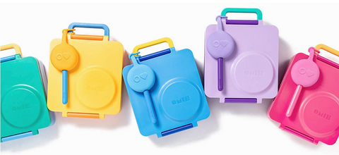OmieBox Lunch Box & Pod Utensil Set