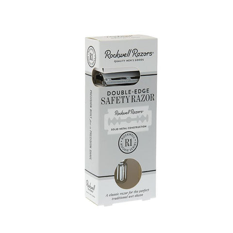 Rockwell R1 Rookie Razor - White Chrome