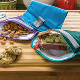 Snack Time Reusable Snack & Sandwich Bags 3-pack