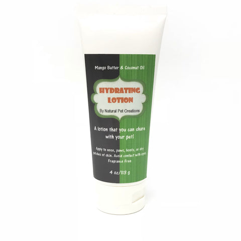 All Natural Pet Lotion 4oz