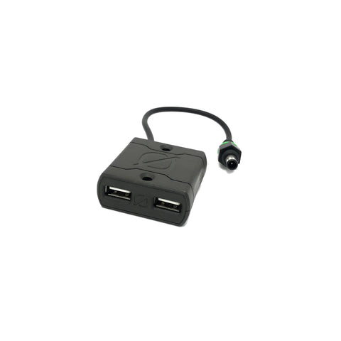 6mm to Dual USB Adapter