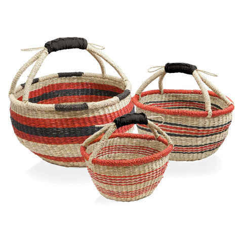 Barebones Harvest Basket - Set of 3