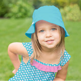 Sun Protection Reversible Bucket Hat Made from Organic Cotton