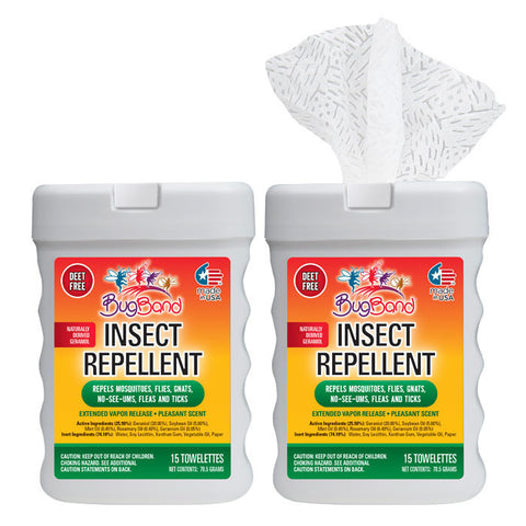 Insect Repellent Towelettes